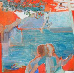 """Saatchi Art Artist Marie-Elisabeth Merlin; Painting, """"La Petite"""" #art"""