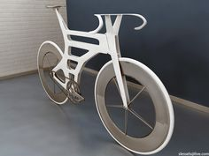 Simon L. (aka Ess) is a designer who is working on an interesting aerodynamic… Wooden Bicycle, Wood Bike, New Bicycle, Bicycle Illustration, Concept Motorcycles, Cycling Art, Road Cycling, Bicycle Pedals, Mtb