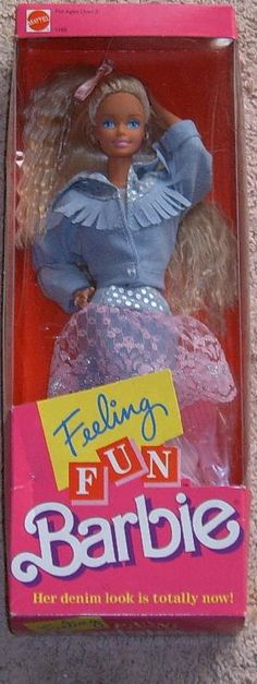 Feeling Fun Barbie I had this one, it was one of my faves!