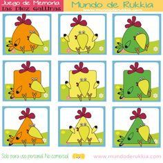 juego memoria, cartas de memoria para niños, las diez gallinas, aprender formas geometricas, juego de figuras geometricas, actividad las diez gallinas, memory cards kids, Busy Book, Conte, Bingo, Homeschool, Nursery, Comics, Books, Cards, Free