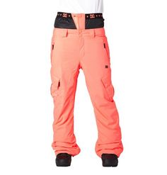 dcshoes, Women's Martock 15 Snow Pants, Hot Coral - Solid (mkz0)