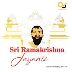 Ramakrishna Jayanti is Celebrated on March 15 Every Year. #Ramakrishna #RamakrishnaJayanti #Celebrated #Jayanti #SriRamakrishnaJayanti Branding Services, Movies, Movie Posters, Films, Film Poster, Cinema, Movie, Film, Movie Quotes