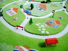 Interactive Farm Play Rugs