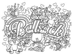 This is a new page from my swear word coloring book! I would love some feedback…
