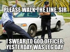 The day after leg day. The struggle is real.