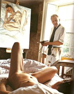 Freud in his studio