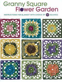 Maggie's Crochet · Granny Square Flower Garden