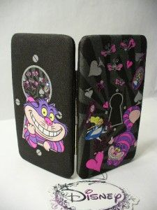 Disney Alice in Wonderland and Cheshire Cat Hinge Wallet by Loungefly