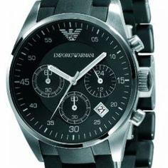 Emporio-Armani-Damen-Armbanduhr-Sports-Chronograph-Chronograph-Edelstahl-AR5868-0