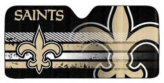 Brand New Saints Auto Sun Shade! x 58 Inches. Made with quality reflective material. Accordion fold for easy storage. Blocks of damaging UVA and UVB rays. Made by Team Promark. Windshield Sun Shade, Car Sun Shade, Accordion Fold, New Sports Cars, New Orleans Saints, Fan Gear, Car Accessories, Exotic Cars