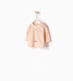 MILK Shiny stars T-shirt from Zara