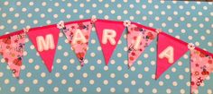 Personalised Flag Bunting - The Supermums Craft Fair