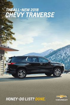 The all-new 2018 Chevy Traverse