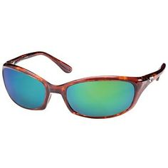 0ce82c40eaa The Costa Del Mar Brine Sunglasses feature Costa 580 polarized green mirror  lenses and stylish