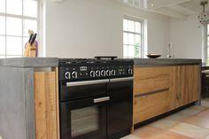 Afbeeldingsresultaat voor keuken houten werkblad