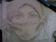 woman sketch pencil by cningtias