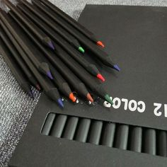 12Pcs Profession Drawing Charcoal Pencils Soft Painting Sketch Art Supplies Gift