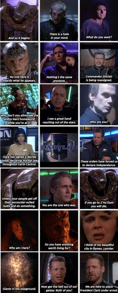 Babylon 5, Season 5 opening sequence. Been looking for this for a very long time. #B5