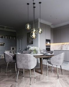 15 Astonishing Oval Dining Tables for Your Modern Dining Roo.- 15 Astonishing Oval Dining Tables for Your Modern Dining Room Look to some supreme and elegant oval dining tables. Dining Room Table Decor, Modern Dining Room Tables, Elegant Dining Room, Luxury Dining Room, Dining Room Sets, Dining Room Design, Dining Room Furniture, Dining Chairs, Design Kitchen