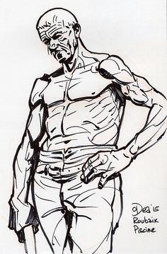 Bucheron by Patrick Dea Roubaix, Ageing, Comic Books, Sketches, Museum, Sculpture, Wall Art, Comics, Live