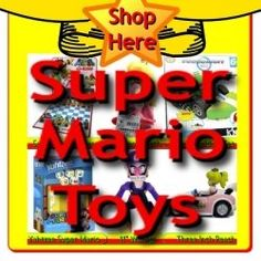 Over the years the Super Mario Toys have become a modern day classic. There are so many figures, games, and toys to choose from in this theme...