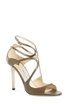 Jimmy Choo 'Lang' Sandal (Women) available at #Nordstrom - beautiful shoe on.