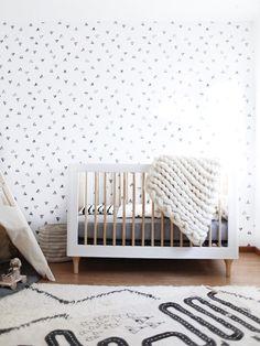 Modern Geometric Nursery - Lynzy & Co.