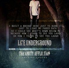 The Amity Affliction- Life Underground