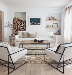 ✔ 100 brilliant solution small apartment living room decor ideas and remodel 58 Related Living Pequeños, Home Living Room, Living Room Designs, Small Living Room Design, Clean Living, Modern And Rustic Living Room, Living Room Daybed, Modern Rustic, Living Room Bookshelves