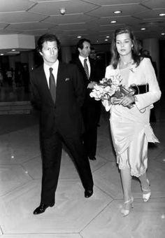 Princess Caroline of Monaco and Philippe Junot. Princess Caroline Of Monaco, Princess Alexandra, Grace Kelly, Christian Dior, Philippe Junot, Prince Rainier, Monaco Royal Family, Vogue, European History