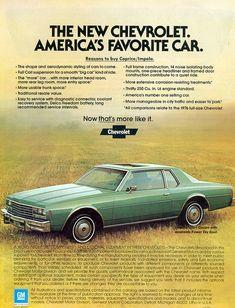 1978 Chevrolet Impala Sport Coupe
