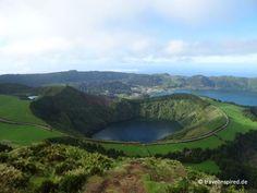 Miradouro im Parque Lago do Canário, Azoren, Portugal