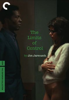 The Limits of Control (2009, Jim Jarmusch).   Fake Criterion Blu Ray cover