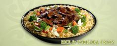 Samurai Sam's Teriyaki Grill Catering Extras