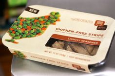 Beyond Meat. Chicken Free Strips. This stuff is the best!