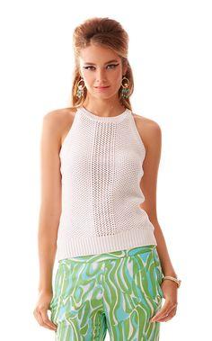 4419d51c19 Gemma Sweater Halter Top