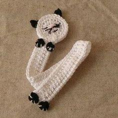 Crochet Bookmark Pattern, Crochet Bookmarks, Crochet Books, Crochet Home, Crochet Gifts, Crochet Baby, Crochet Patterns, Book Markers, Crochet Animals