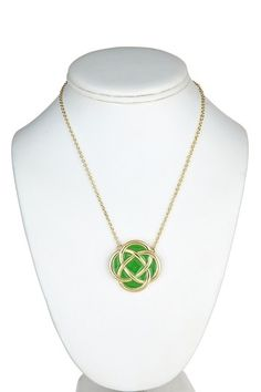 Murphy Necklace /Celtic knot - perfect for St. Patrick's!