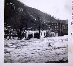 1957 Flood in Welch, WV