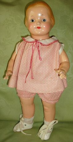 Effanbee Compo Baby Dainty Doll Tagged Outfit - All Original