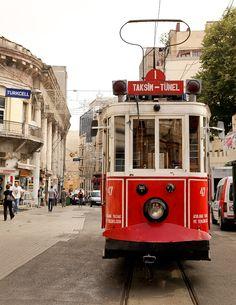 Streetcar in Istanbul