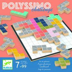 Strategická didaktická hra - Djeco - Polyssimo challenge