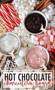 How to Create a Hot Chocolate Charcuterie Board - Aspen Jay