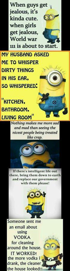 Minions... - funny minion quotes, Minion Quote, Minions - Minion-Quotes.com