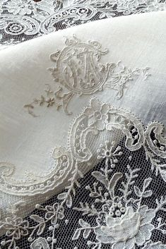 Fabric Art, Lace Fabric, Victoria Magazine, French Lifestyle, Linens And Lace, Parisian Chic, Lace Embroidery, Shades Of White, Pure Beauty