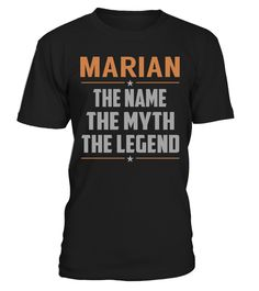 """# MARIAN The Name, Myth, Legend .    MARIAN The Name The Myth The Legend Special Offer, not available anywhere else!Available in a variety of styles and colorsBuy yours now before it is too late! Secured payment via Visa / Mastercard / Amex / PayPal / iDeal How to place an order  Choose the model from the drop-down menu Click on """"Buy it now"""" Choose the size and the quantity Add your delivery address and bank details And that's it!"""