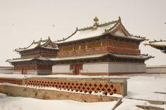 Erdene Zuu Monastery in Mongolia Buddhist Teachings, Buddhist Monk, Tibetan Buddhism, Buddhist Temple, Mongolia, Nepal, Volunteers Around The World, Houses Of The Holy, Temple Design
