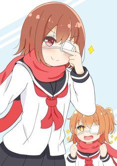 Myako and Hinata Manga Anime, Otaku Anime, Anime Chibi, Anime Base, Beautiful Anime Girl, Aesthetic Anime, Hinata, Cute Art, Cute Pictures