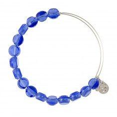 Sapphire Luxe Bead Bangle