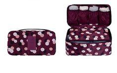 Women Girl Travel Bra Underwear Lingerie Organizer Bag Cosmetic Makeup Toiletry Wash Storage Case Bra Bag Free Shipping